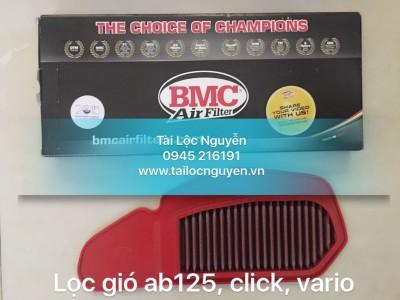 LỌC GIÓ BMC CHÍNH HÃNG CHO AB125, CLICK, VARIO