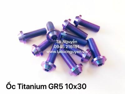 ỐC TITANIUM GR5 10x30