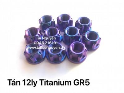 Tán 12ly Titanium GR5