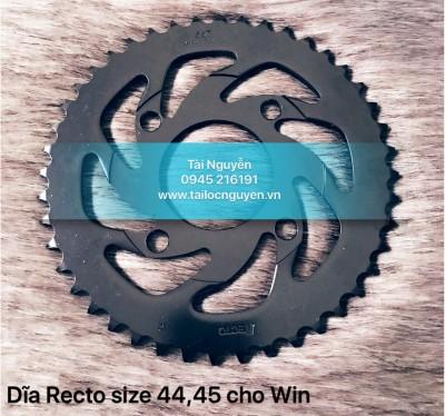 DĨA ĐEN RECTO 44, 45 CHO WINNER