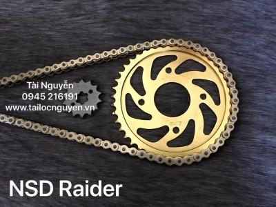 NSD RAIDER (SÊN DID VÀNG 10LI, DĨA RECTO VÀNG)