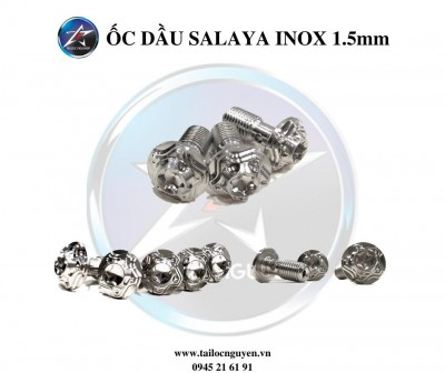 ỐC DẦU INOX SALAYA ĐẦU SAO 1.5mm