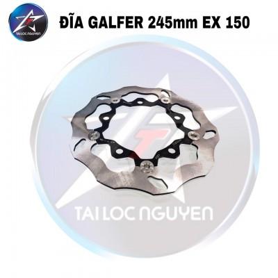 ĐĨA GALFER LÒNG ĐEN SIZE 245mm GẮN EXCITER 150