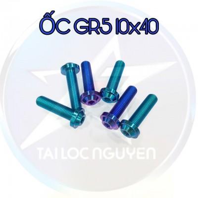 ỐC TITANNIUM GR5 SIZE 10x40 VÀ 10x60
