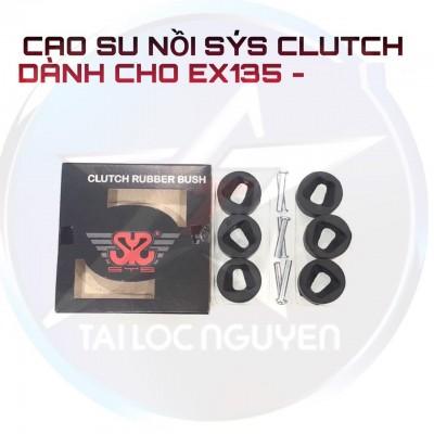 CAO SU NỒI SYS CLUTCH RUBBER BUSH EX135