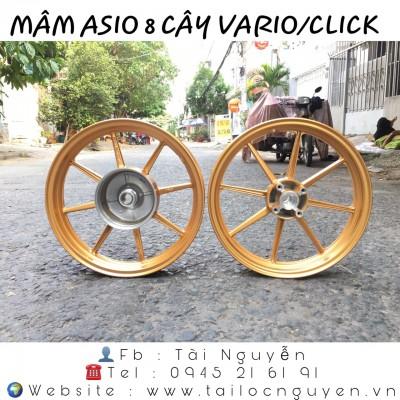 MÂM ASIO 8 CÂY CHO VARIO/CLICK 125-150