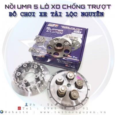 Bộ Nồi Chống Trượt  Uma Slipper Clutch Cho Xe Exciter150/Fz150i/R15 V2/TFX 150