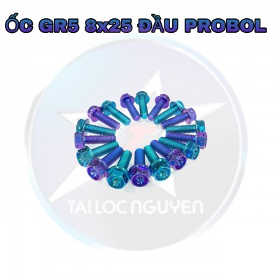 ỐC TITANNIUM GR5 8x20 ĐẦU PROBOL