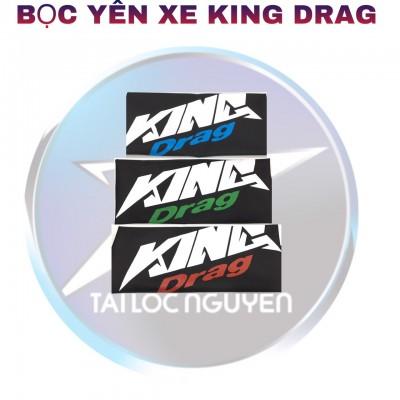 DA BỌC YÊN XE KING DRAG CHO XE MÁY