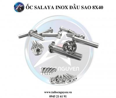 ỐC INOX SALAYA 8x40 ĐẦU SAO
