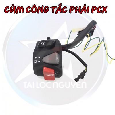 CÙM CÔNG TẮC PHẢI PCX 2018 CHÍNH HÃNG