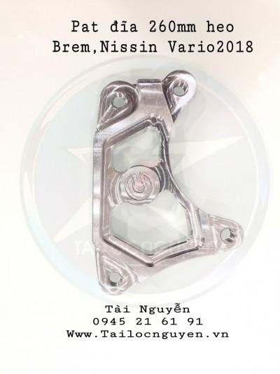 PAT HEO BREM/NISSIN GẮN ĐĨA 260mm CHO VARIO 2017/2018