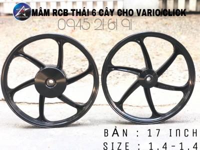 MÂM RCB THÁI 6 CÂY CHO VARIO/CLICK BẢN 1.4-1.4 17 inch