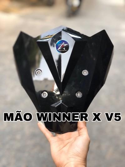 ỐP ĐẦU WINNER X V5 ĐEN TRONG
