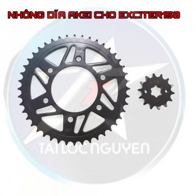COMBO NHÔNG DĨA AKEI CHÍNH HÃNG CHO EXCIRER 150/WINNER/RAIDER FI/EXCITER 135