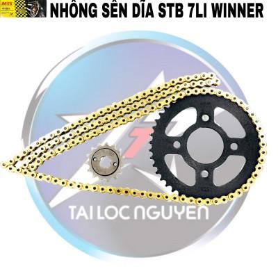 BỘ NSD CHO HONDA WINNER: SÊN MCS 7LI - NHÔNG DĨA STB 7LI