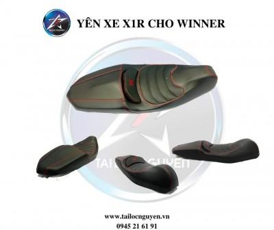 YÊN XE 2 TẦNG X1R CHÍNH HÃNG CHO HONDA WINNER/EXCITER 135/EXCITER 150