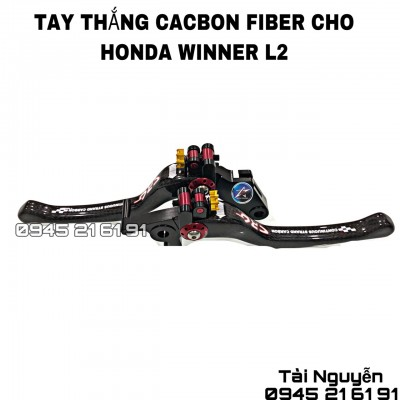 TAY THẮNG CARBON FIBER CHO EXCITER/WINNER/WINNER X/AB/VARIO/CLICK/SH