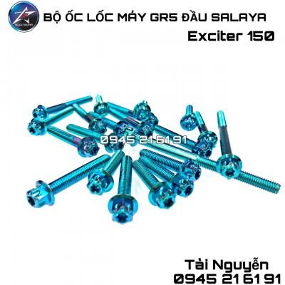 ỐC LỐC MÁY GR5 ĐẦU SALAYA CHO EX150 - EX135 - WINNER - VARIO- RAIDER FI