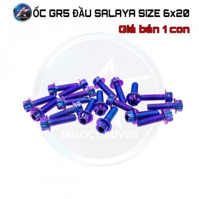 ỐC INOX GR5 ĐẦU SALAYA SIZE 6LI (6x15, 6x20, 6x30)