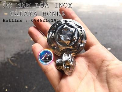 ỐC MÂM LỬA SALAYA CHO YA/Ex150 VÀ HONDA/RAIDER FI