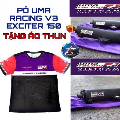 PÔ UMA RACING V3 TẶNG KÈM ÁO THUN CHÍNH HÃNG CHO EXCITER 150