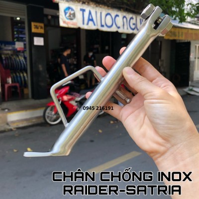 CHÂN CHỐNG INOX CÁC XE Ex150/WINNER/RAIDER FI/VARIO