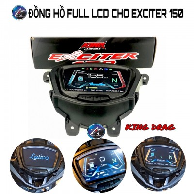 ĐỒNG HỒ LAVITO FULL LCD CHO EXCITER 150
