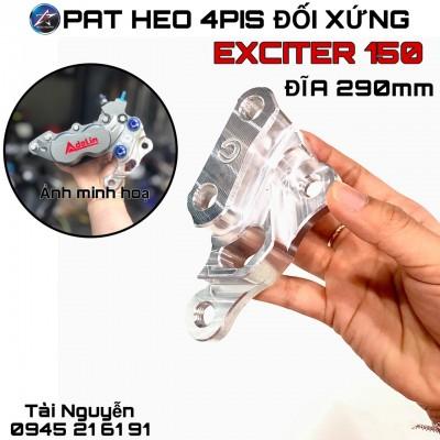 HEO ADELIN 4PIS VÀ PAT CNC GẮN WINNER/WINNER X/ABS/EXCITER 150 ĐĨA 290mm (X1R)
