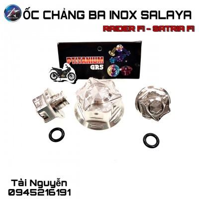 ỐC CHẢNG BA INOX SALAYA RAIDER FI/SONIC