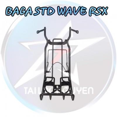 BAGA 10LI INOX CHO WAVE RSX, WAVE RS,WAVE @ 2017 VÀ SƠN ĐEN