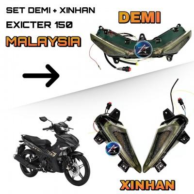 SET DEMI + XI NHAN MALAYSIA CHO EXCITER 150 (HÀNG NHẬP MALAYSIA)