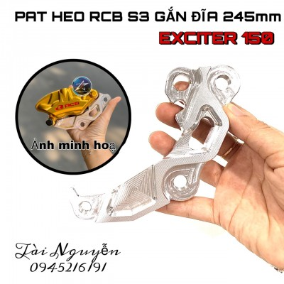 PAT HEO RACINGBOY S3 GẮN ĐĨA 245mm EXCITER 150