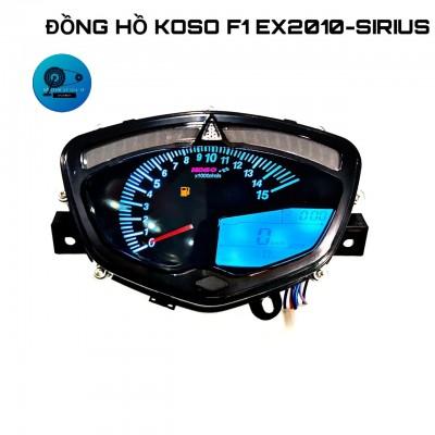 ĐỒNG HỒ KOSO SIRIUS/ EXCITER 2006-2010 F1