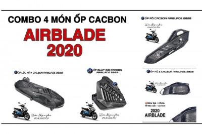 ỐP NHỰA SƠN CACBON CHO AIRBLADE 2020