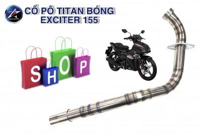 CỔ PÔ TITAN BÓNG CHO EXCITER 155