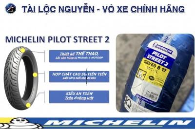 VỎ MICHELIN PILOT STREET 120/60-17