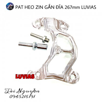 PAT HEO ZIN GẮN ĐĨA 267MM CHO LUVIAS